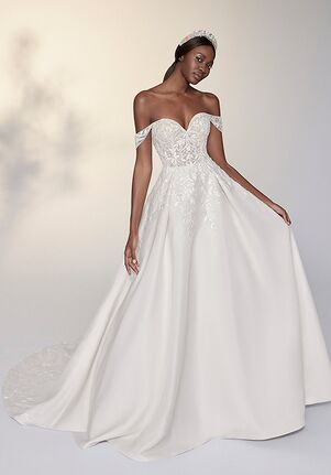 Justin Alexander Signature Moira Ball Gown Wedding Dress