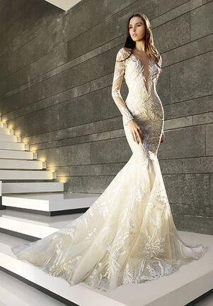 Tony Ward for Kleinfeld Bloom Mermaid Wedding Dress