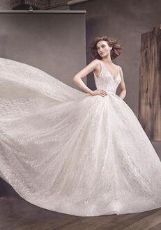 Lazaro 3662 Ball Gown Wedding Dress