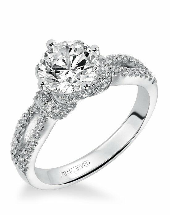 ArtCarved 31-V337GRW Engagement Ring photo