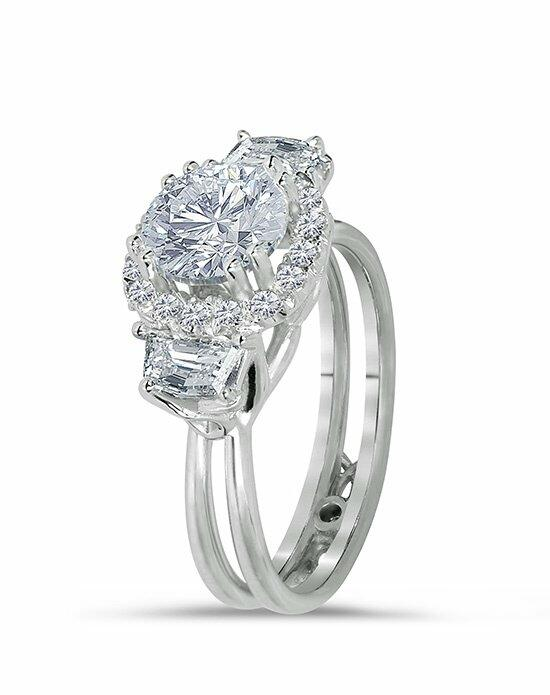 Daviani Love Links Collection DCR1009 Engagement Ring photo