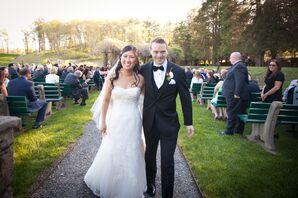 Happy Bride and Groom Recessional