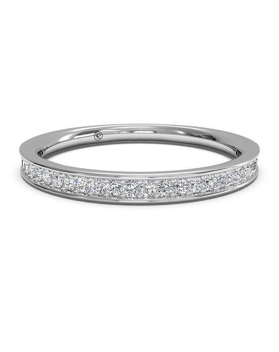 Ritani Women's Micropave Diamond Wedding Band - in 14kt White Gold (0.15 CTW) Wedding Ring photo