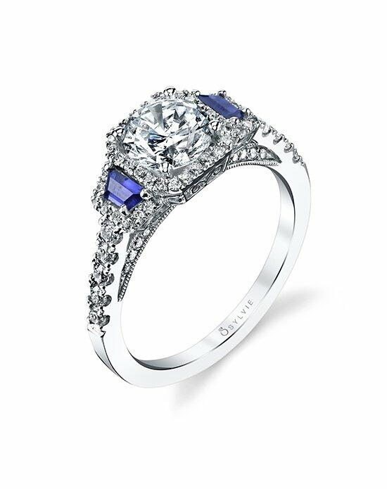 Sylvie Collection S4112S Engagement Ring photo