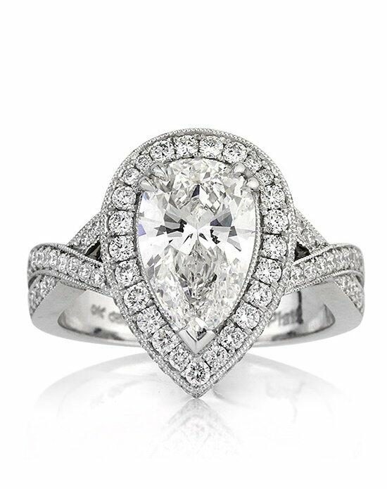 Mark Broumand 3.14ct Pear Shaped Diamond Engagement Ring Engagement Ring photo