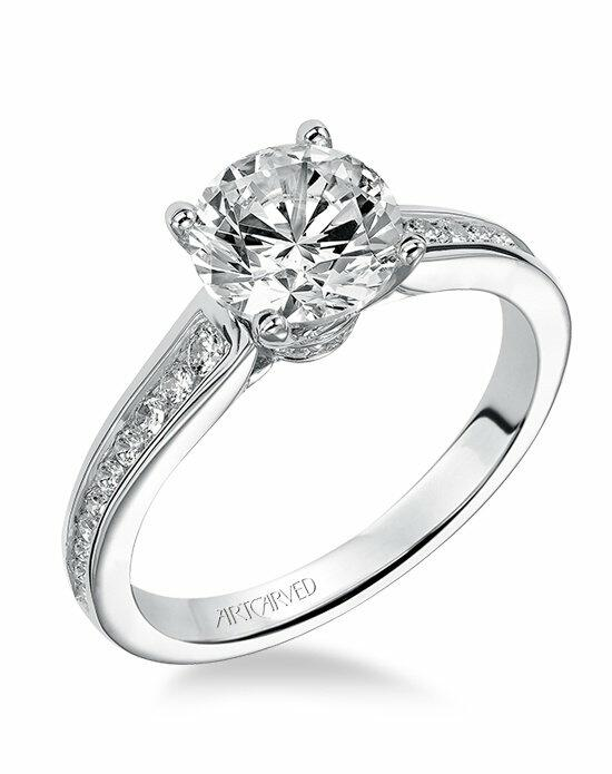 ArtCarved 31-V499GRW Engagement Ring photo