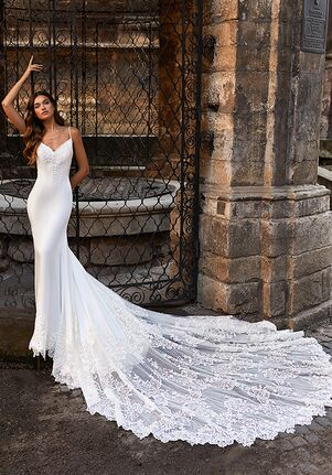 Moonlight Couture H1469 Mermaid Wedding Dress