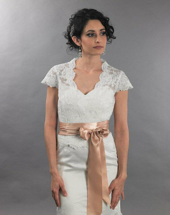 Tulip Bridal Cap Sleeve Front Open Lace Wedding Jacket Wedding Jackets photo