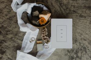 Simple and Natural Wedding Paper Goods
