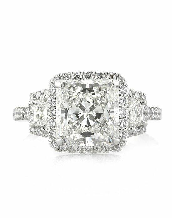 Mark Broumand 4.02ct Radiant Cut Diamond Engagement Ring Engagement Ring photo