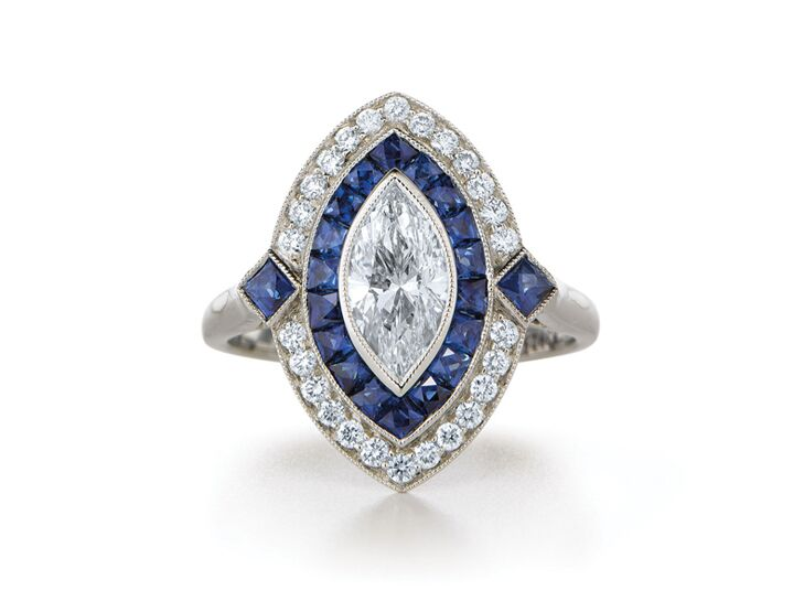 kwiat marquise engagement ring