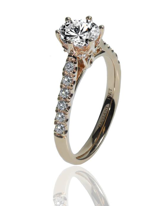 Daviani Love Links Collection DCR1120 Engagement Ring photo