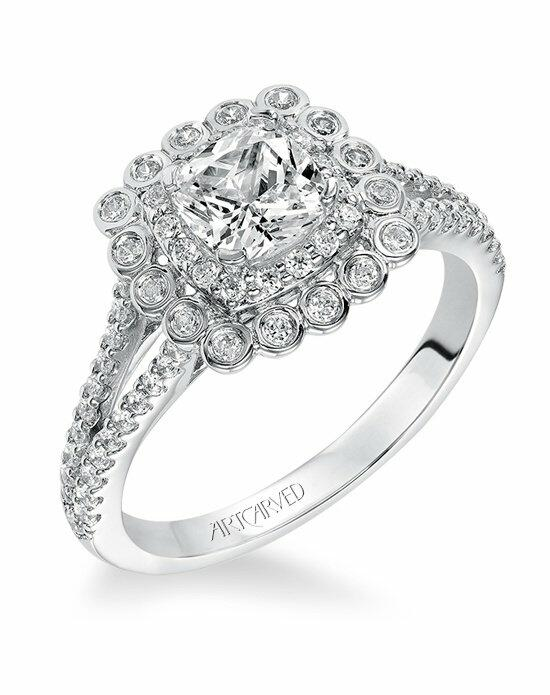 ArtCarved 31-V564EUW Engagement Ring photo