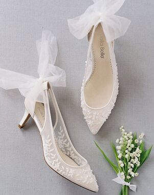 Bella Belle ESTHER Ivory Shoe