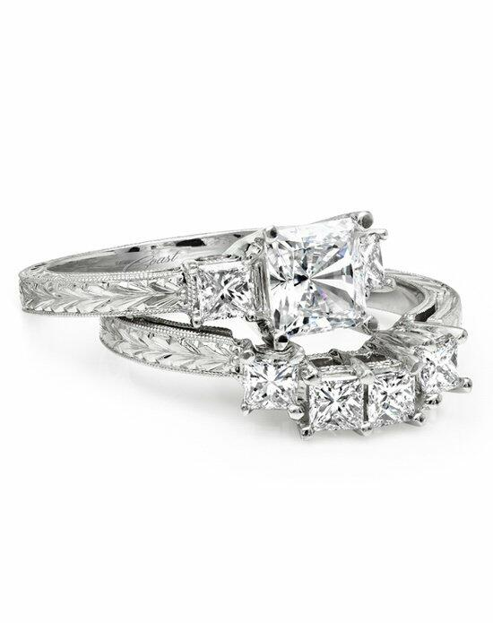 Coast Diamond Hand Engraved Collection - LP2285 & WP2285 Engagement Ring photo