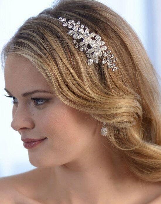 USABride Delicate Floral Side Headband TI-3206 Wedding Headbands photo