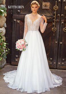 KITTYCHEN GRACIE, H1934 A-Line Wedding Dress
