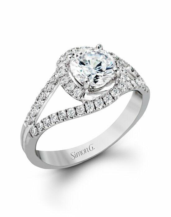 Simon G. Jewelry CR131 Engagement Ring photo