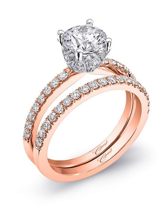 Coast Diamond Rose Gold Collection - LC5399A & WC5399A Engagement Ring photo