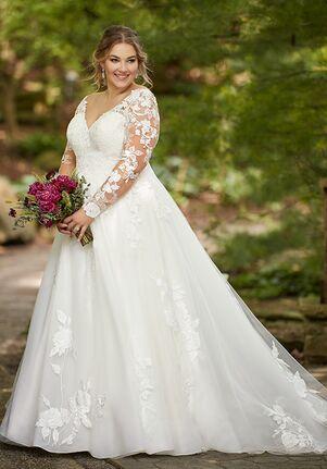 Essense of Australia D2805+ A-Line Wedding Dress