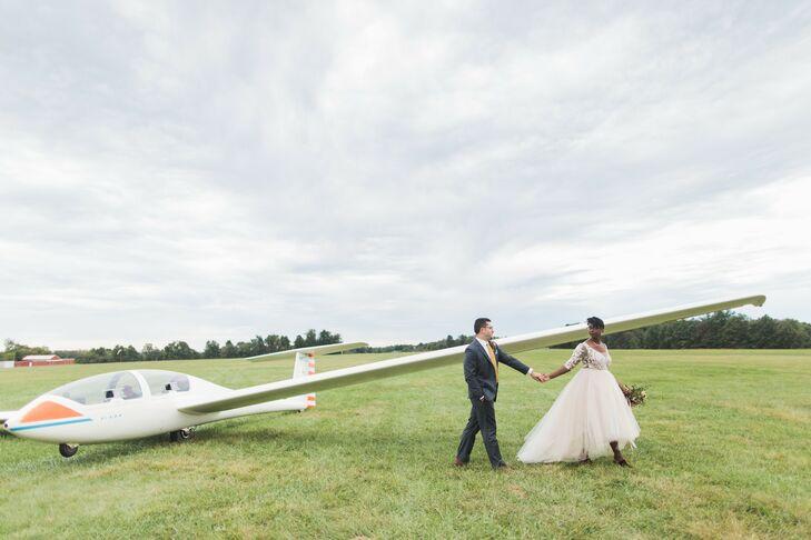 Wedding at The Philadelphia Glider Council in Perkasie, Pennsylvania
