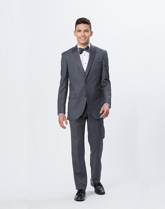 Mon Cheri Mon Cheri Steel Gray Tux Wedding Tuxedos + Suit photo
