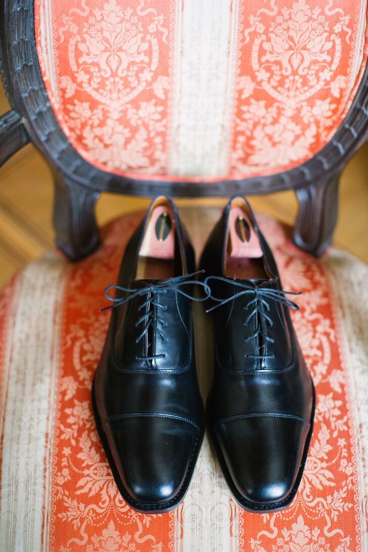 Classic Black Dress Shoes