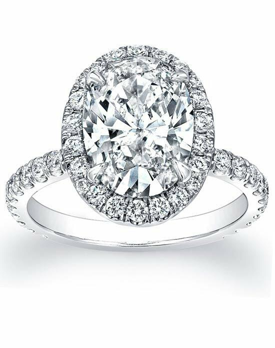 Since1910 Pave Diamond Halo Engagement Ring Engagement Ring photo