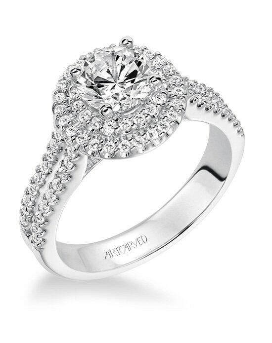 ArtCarved 31-V609ERW-E Engagement Ring photo