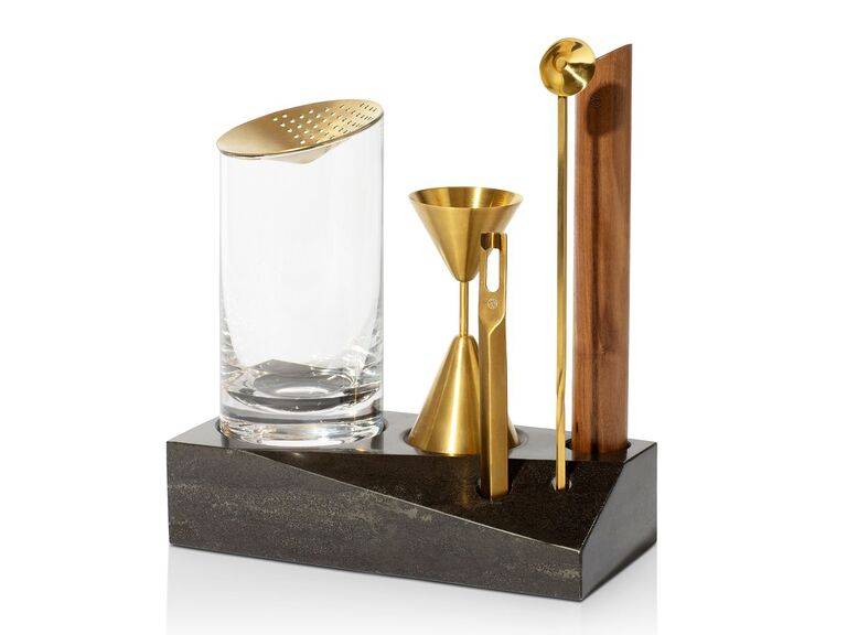 Bar tools bridal shower gift idea