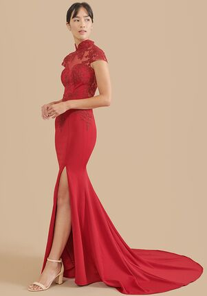 East Meets Dress Amal Bespoke Dress Mermaid Wedding Dress
