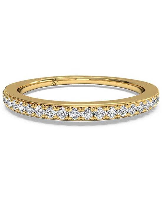 Ritani Women's Micropavé Diamond Wedding Band - in 18kt Yellow Gold (0.22 CTW) Wedding Ring photo
