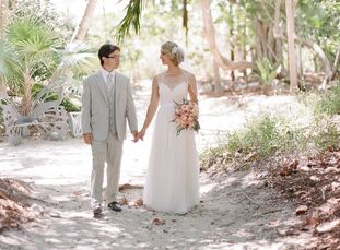 Katrina Konrath (27 and an elementary school teacher) and Frank Vastano (27 and a florist and garden center buyer) met as children growing up in the F