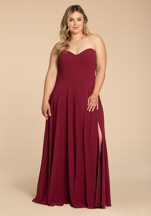 Hayley Paige Occasions W902 Strapless Bridesmaid Dress