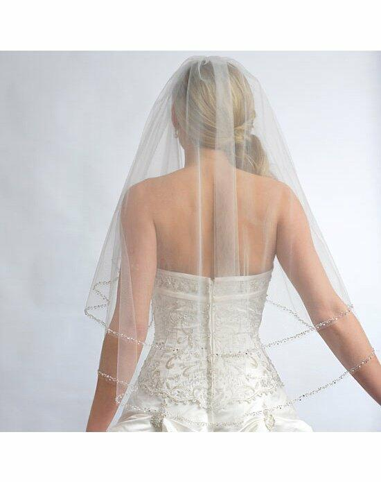 USABride 2 Layer, Priscilla Pearl Beaded Edge Veil VB-5011 Wedding Veils photo