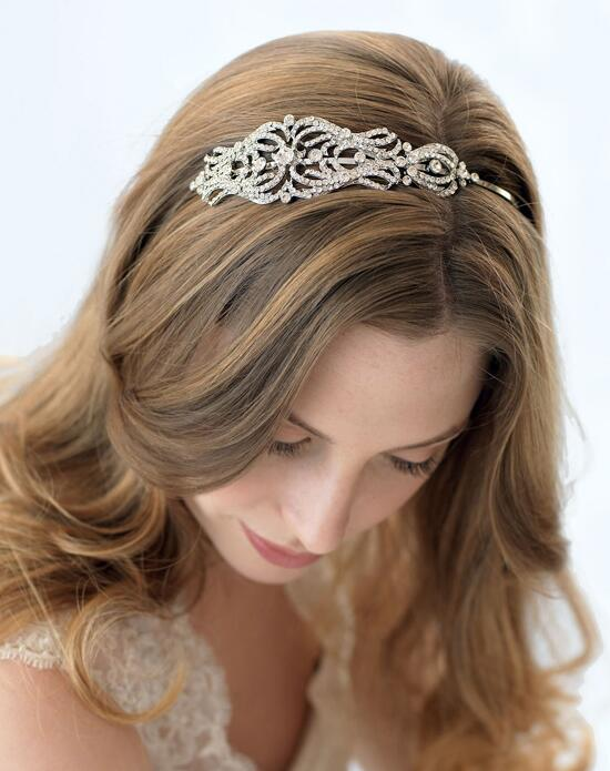 USABride Vintage Swirling Side Headband TI-3205 Wedding Headbands photo