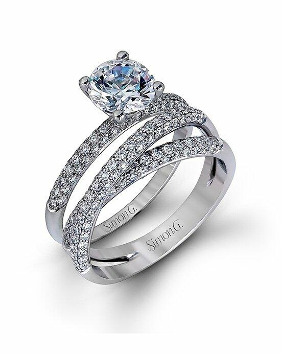 Simon G. Jewelry MR1577-D Engagement Ring photo