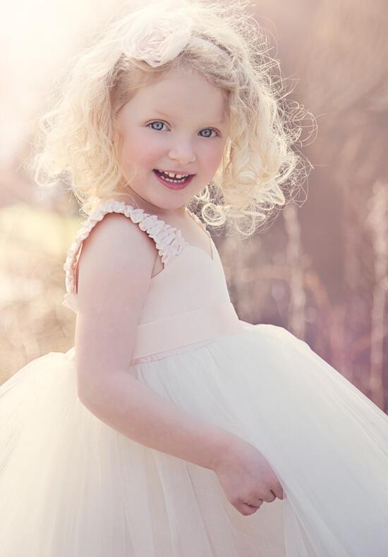 FATTIEPIE Blush Flower Girl Dress photo
