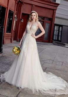 KITTYCHEN Couture KATRINA, K1893 Sheath Wedding Dress