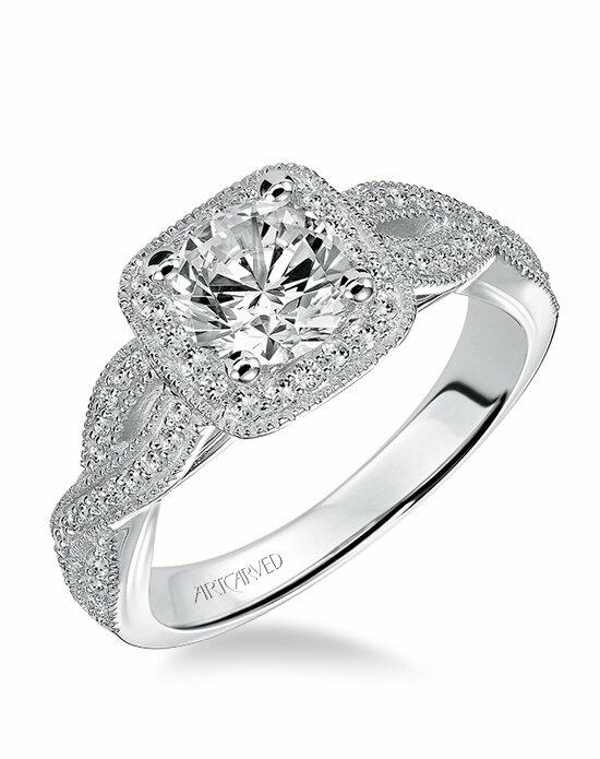 ArtCarved 31-V507ERW Engagement Ring photo