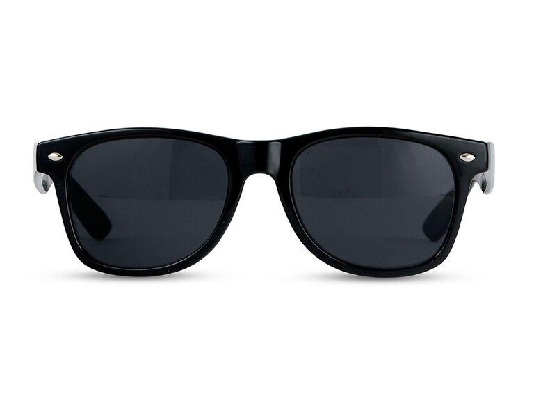 the knot shop black sunglasses for bachelor party favors