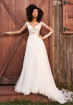 Lillian West 66192 A-Line Wedding Dress
