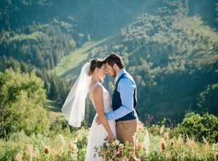 """""""Our relationship, early on, was built on adventure,"""" Jen Hudak says of her bond with Chris Moore. """"It was how we met, it was how we fell in love, and"""