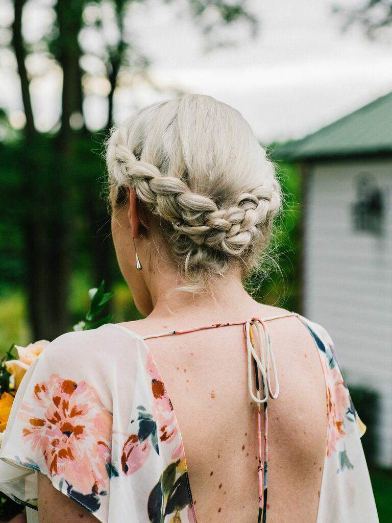Wedding Guest Hairstyles Braid Crown
