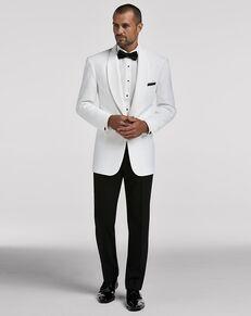 Men's Wearhouse Joseph & Feiss White Dinner Jacket White Tuxedo