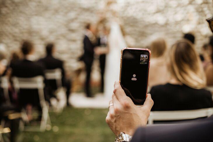 Live Video Stream of Wedding Ceremony at Surf Hotel in Buena Vista, Colorado
