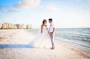 Romantic Marco Island Beach Couple Shot
