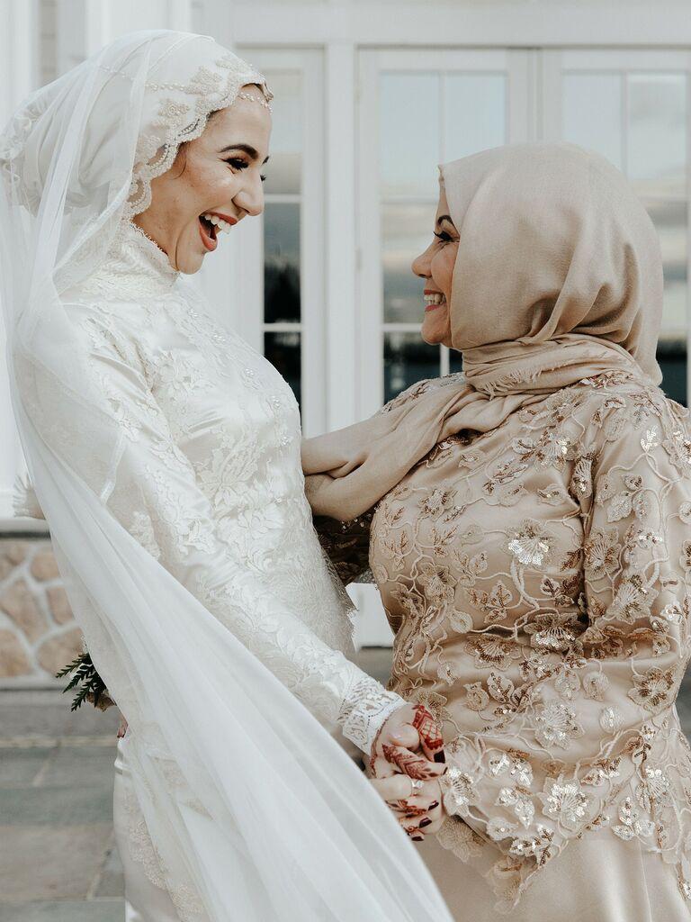 wedding guest hairstyles hijab