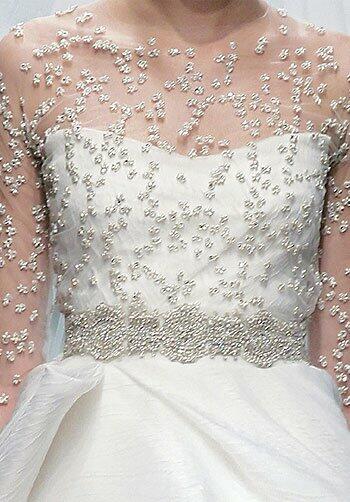 Monique Lhuillier Keepsake Wedding Dress The Knot