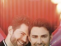 Jonathan Bennett and Jaymes Vaughan featured in The Knot